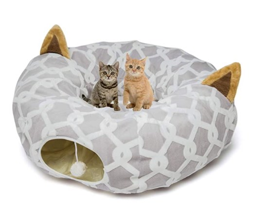 LUCKITTY Cat Tunnel Bed 6 FT Diameter