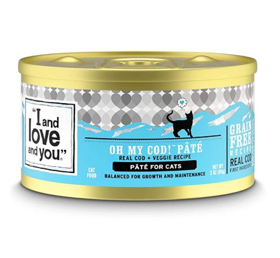 I and love and you - oh my god pate, wet cat can food