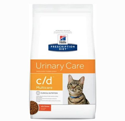 dry food for cats urinary care